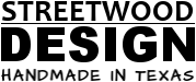 Streetwood Design™ Handmade Reclaimed Wood Furniture & Home Decor Logo